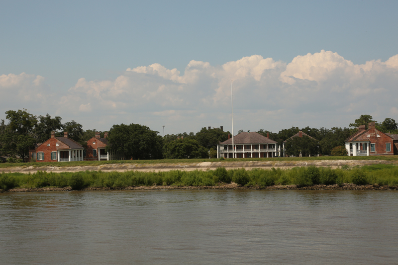Fort Jackson, near the site of the battle of New Orleans, led by Andrew Jackson.