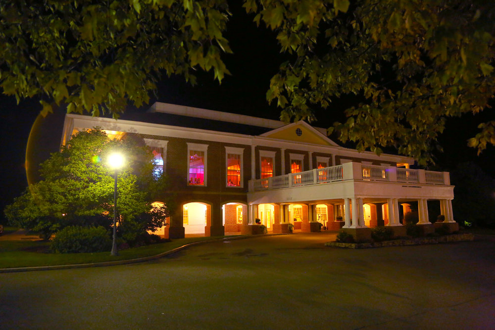 The Charter Oak Country Club, where the party went on into the night.
