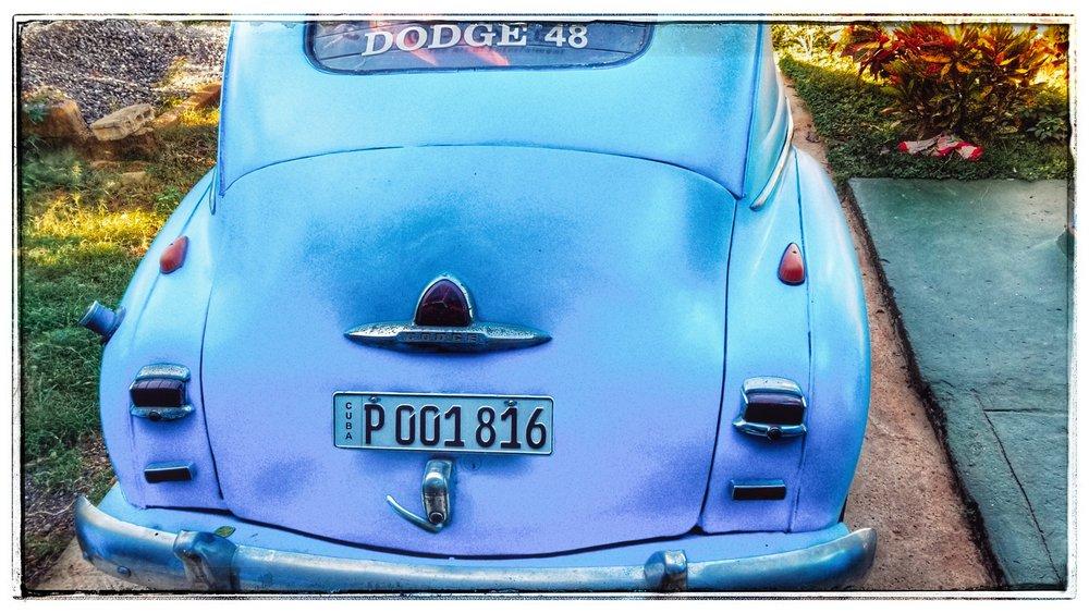 The Oldsmobile.
