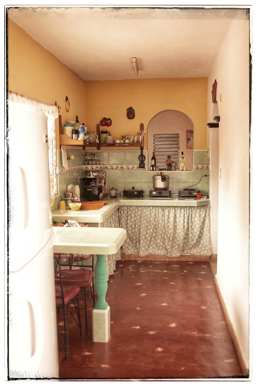 Their kitchen.