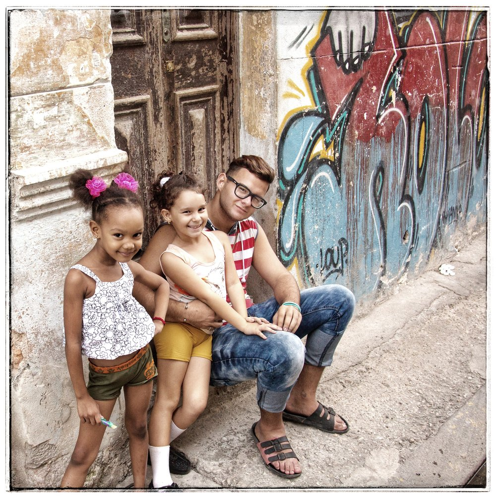 The children can't buy crayons in Cuba (not available at all) and colored pens (like I gave her) are hard to come by.