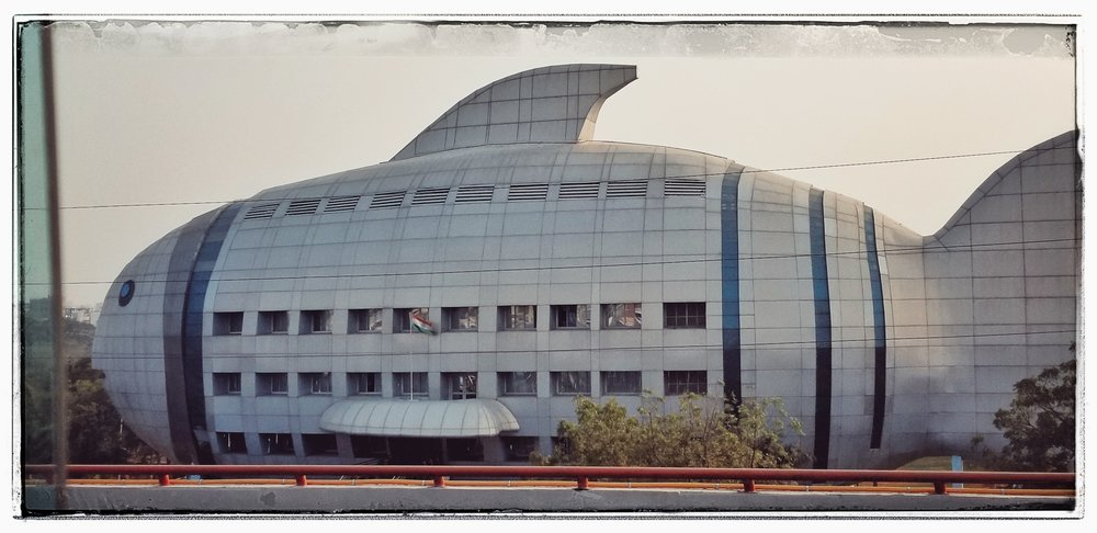Hows this for an office building? Hyderabad is India's 6th largest city and the techno hub. Having the orphans learn English is huge for their future.