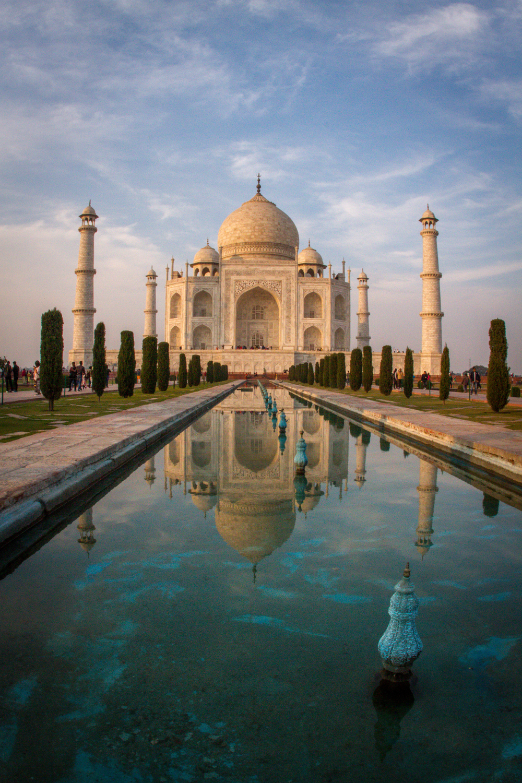 Taj Mahal at Sunset Agra India photographs portraits and head shots photographers Eugene Oregon