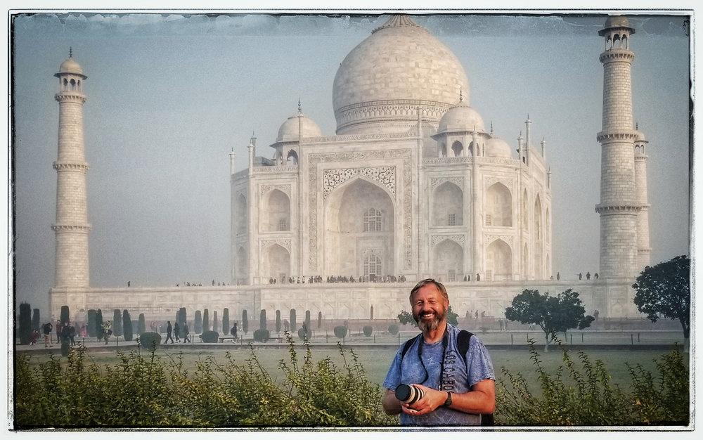 Taj Mahal Agra India sunrise wedding photographer Eugene Oregon Bruce Berg