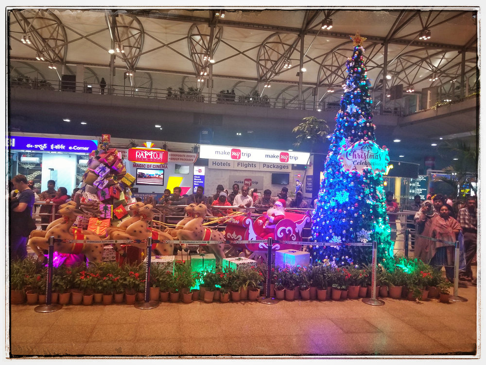 Christmas in Hyderabad India