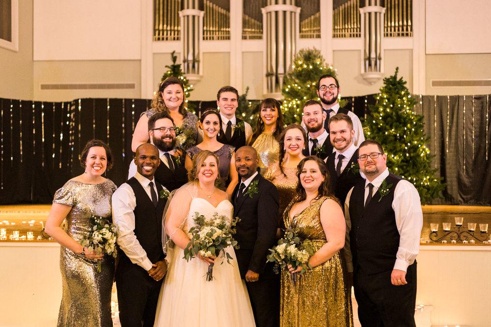 NYE Ohio Wedding by Cleveland Wedding Photographer Matt Erickson Photography