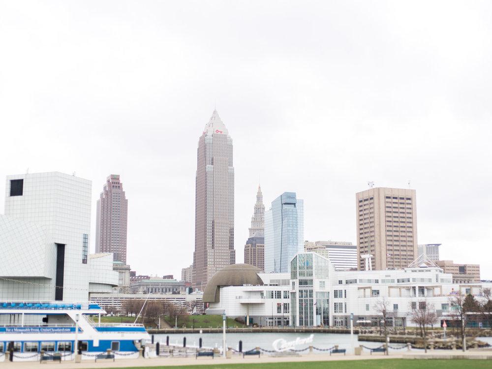 Voinovich Bicentennial Park, Cleveland Skyline, Cleveland Ohio, Cleveland Photographer, Cleveland Wedding, Matt Erickson Photography