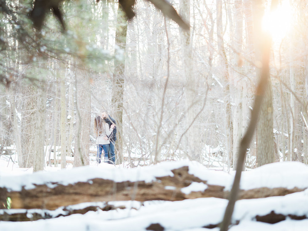 Cuyahoga Valley National Park Engagement Photos by Westlake Wedding Photographer Matt Erickson Photography