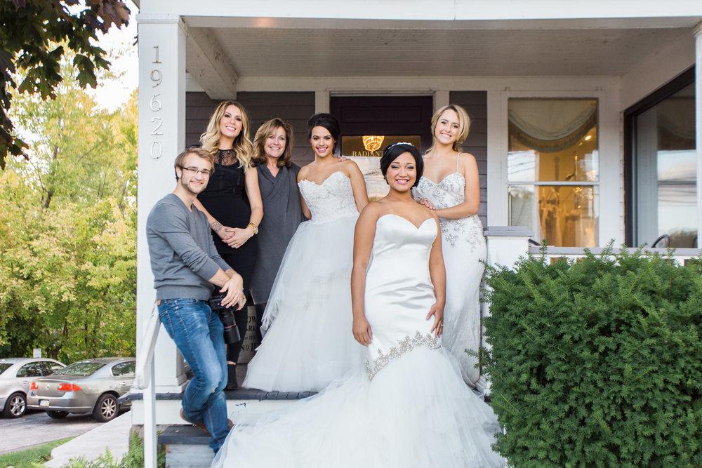 Radiant Bride by Cleveland Wedding Photographer Matt Erickson Photography