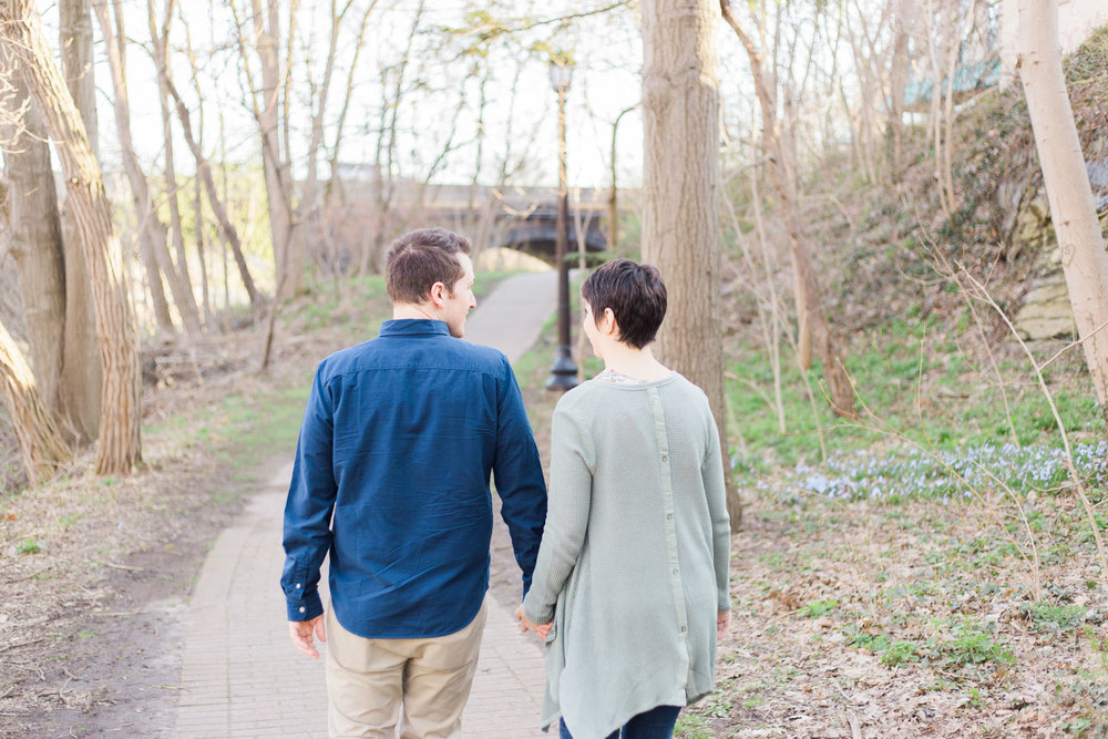 Kent, Ohio Engagement Photos by Cleveland Wedding Photographer Matt Erickson Photography