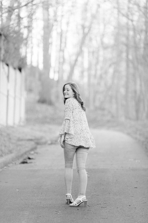 Senior Photos in the Cleveland Metroparks by Cleveland Wedding Photographer Matt Erickson Photography