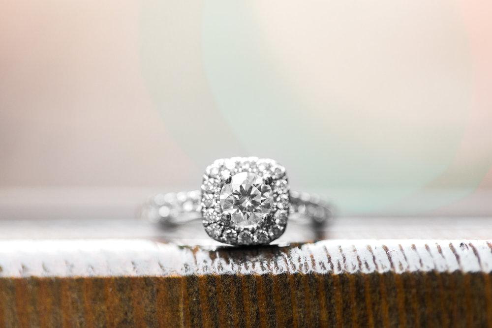 Engagement Photos on East 4th Street by Cleveland Wedding Photographer Matt Erickson Photography