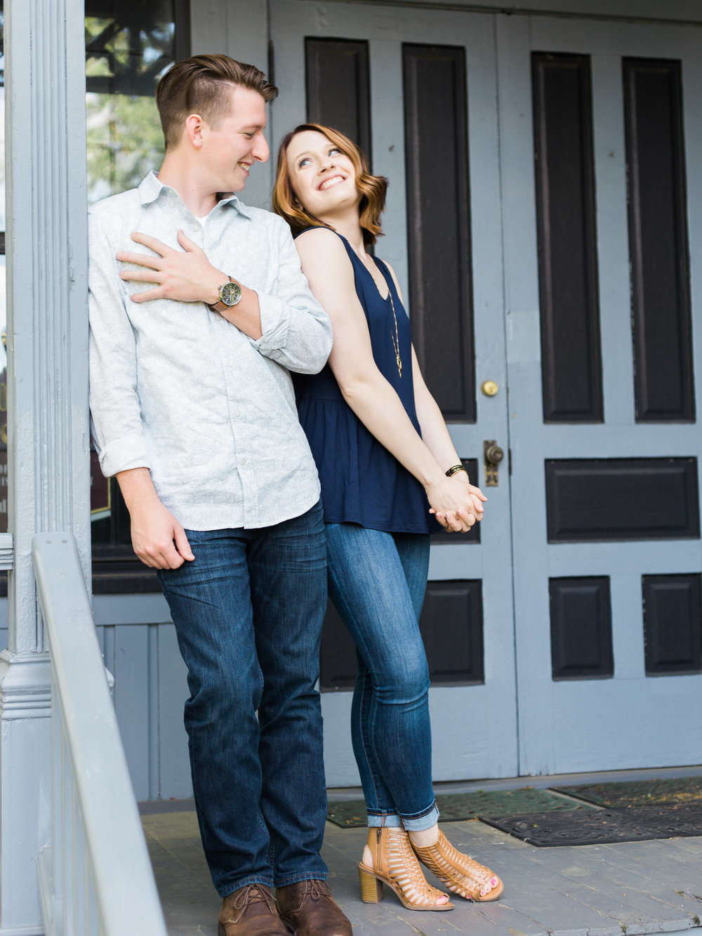 Adorable Engagement Session in Peninsula, Ohio by Cleveland Wedding Photographer Matt Erickson Photography