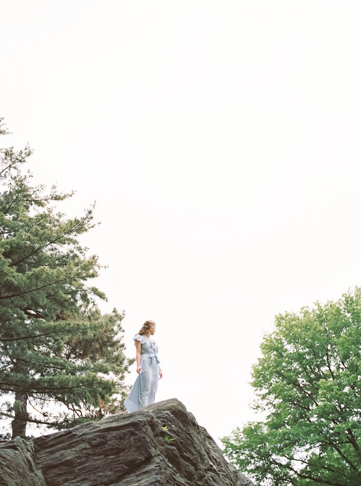 Senior Pictures Central Park NYC by Cleveland Wedding Photographer Matt Erickson Photography
