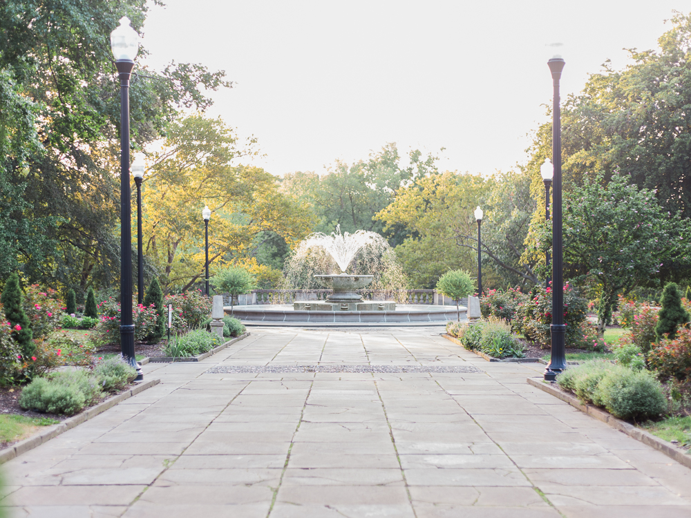 Cleveland Cultural Gardens Italy Fountain