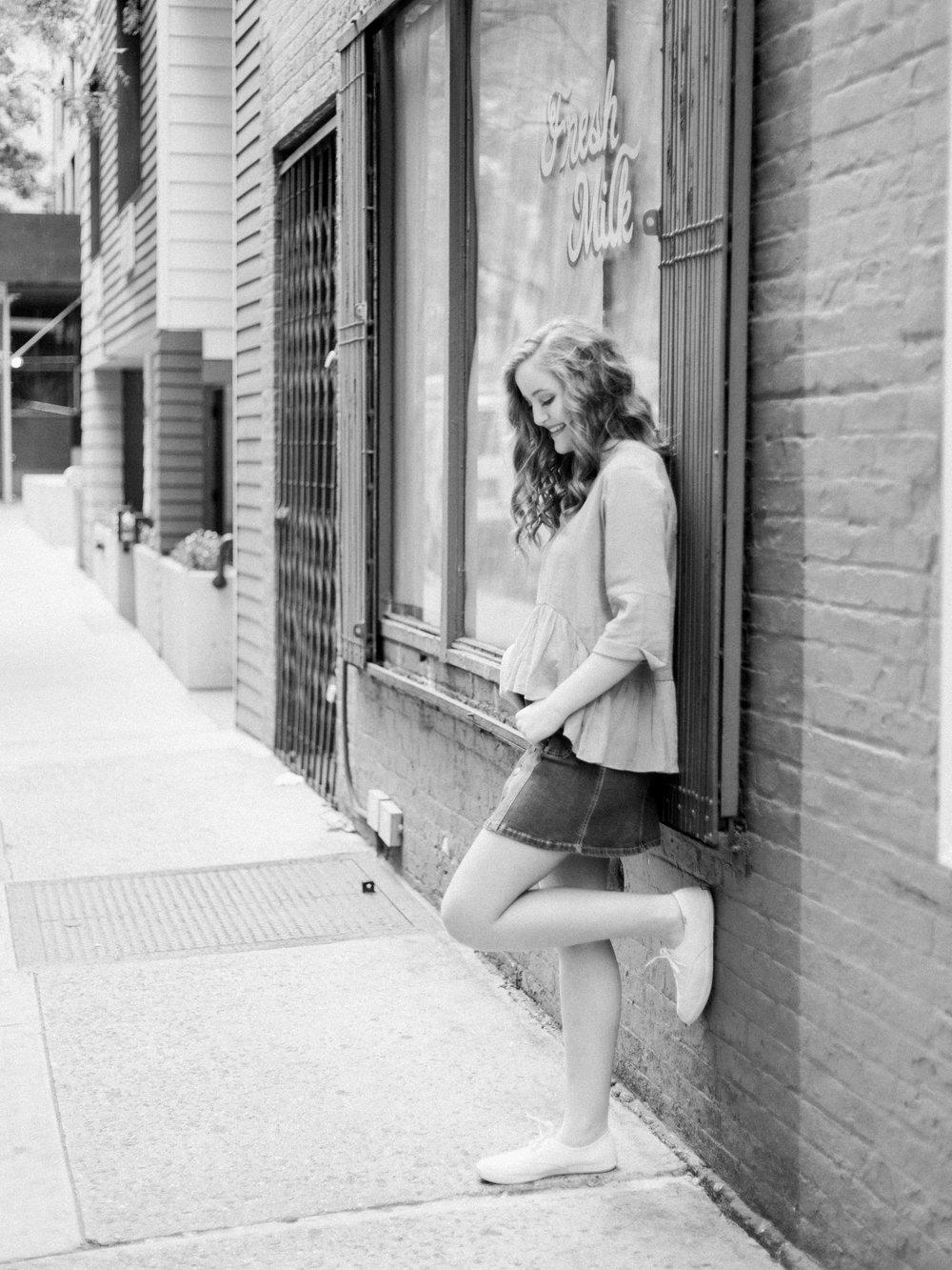 Urban Senior Photos in New York City by Cleveland Wedding Photographer Matt Erickson Photography