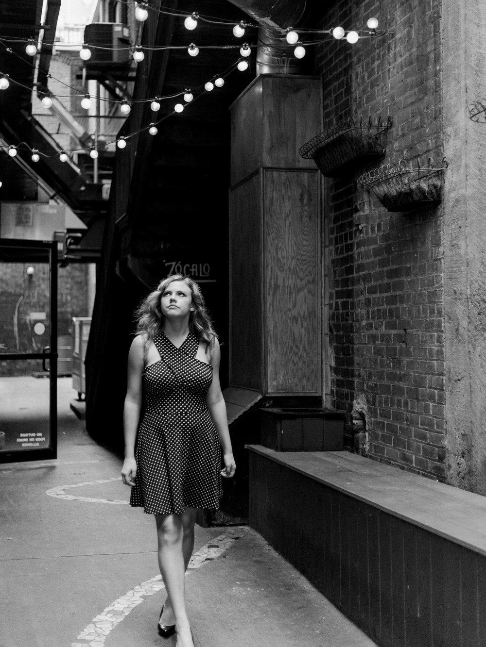 Downtown Cleveland Senior Photos by Cleveland Wedding Photographer Matt Erickson Photography