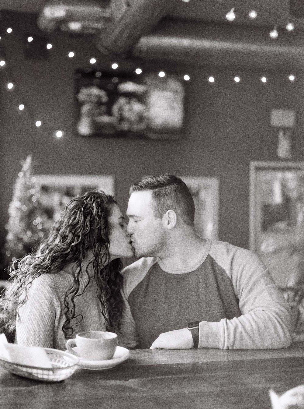 Cozy Cleveland Engagement Session by Cleveland Wedding Photographer Matt Erickson Photography