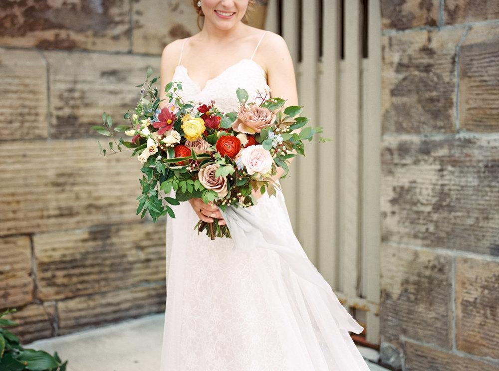 Matt Erickson Photography Columbus Atheneum Wedding with Evergreen Flower Co.