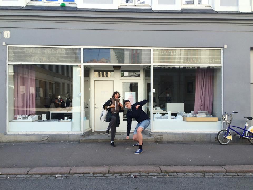 MEMORIES:Vårdagen 2014 da Fanfare-redaktør Synne Øverland Knudsen og Frekvens-redaktør Peter Daatland vandret inn i Bjerregaardsgate 5 og umiddelbart brøt ut i en slags seiersdans.