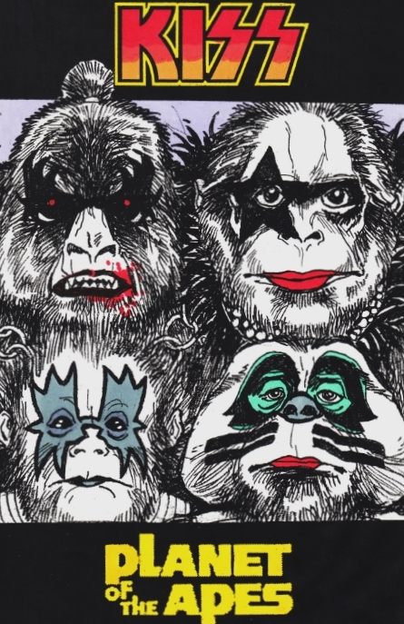 Kiss Vs. Planet of The Apes