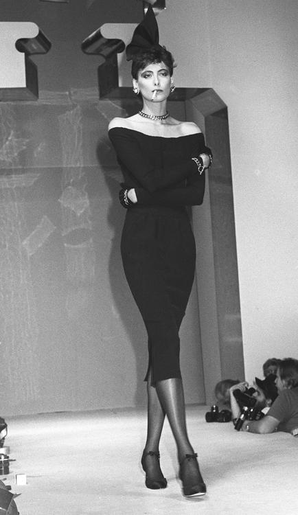 Chanel, 1984. Ines de la Fressange
