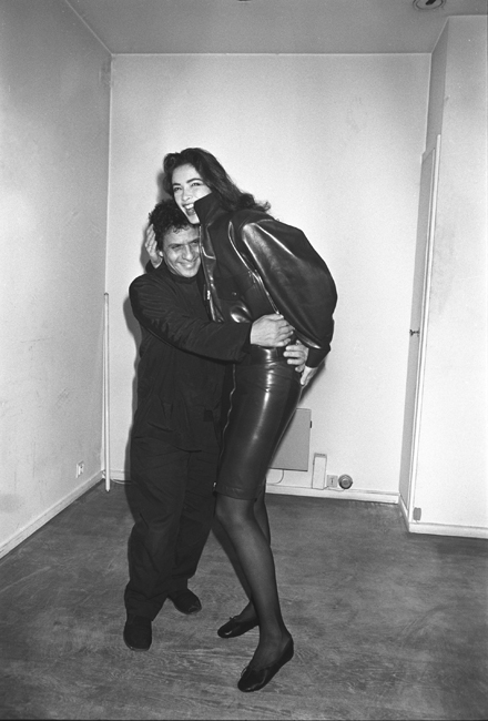 Azzedine Alaia and Linda, 1985