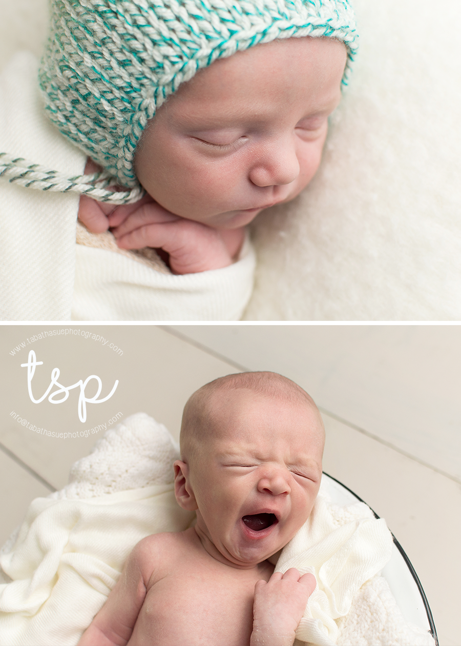 2-newborn-baby-pictures-in-a-parma-heights-ohio-home-studio-professional-photography-near-parma-heights-ohio-44130-green-and-blue-bonnet-licensed-photographer.png