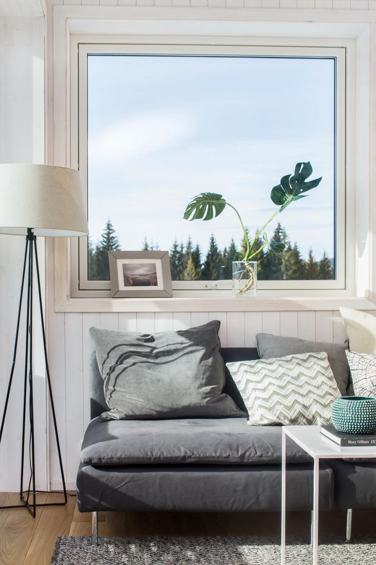 Stue i leilighet Hurdal Økolandsby