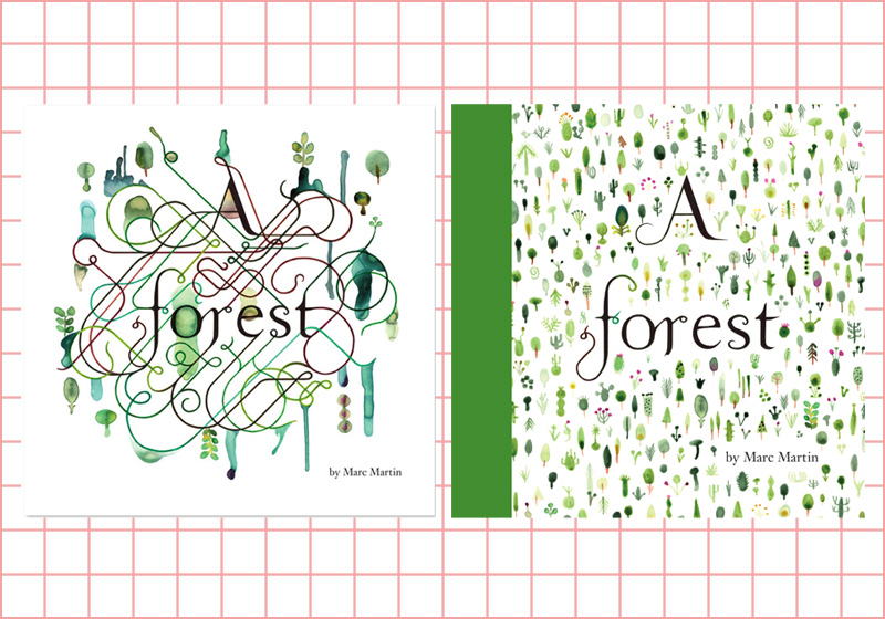 """A Forest"" self-published 2008, and ""A Forest"" Penguin 2012."