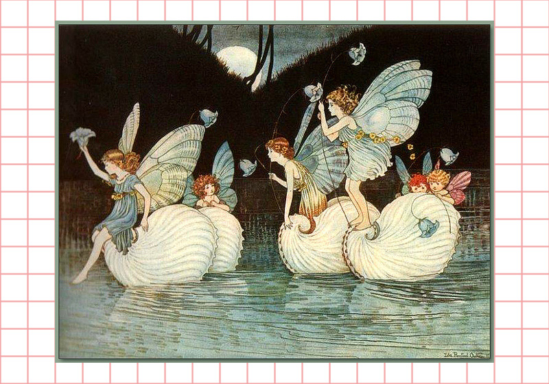 Fairies by Ida Rentoul Outhwaite