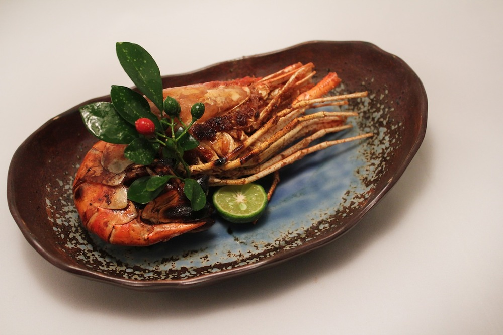 カリマンタン産ジャンボ海老/Grilled Shrimp