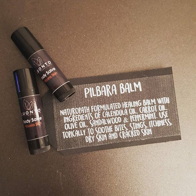 PILBARA BALM... available in easy to use roll up tubes today at The West End Markets. 11am - 3pm at the Courthouse Gardens!