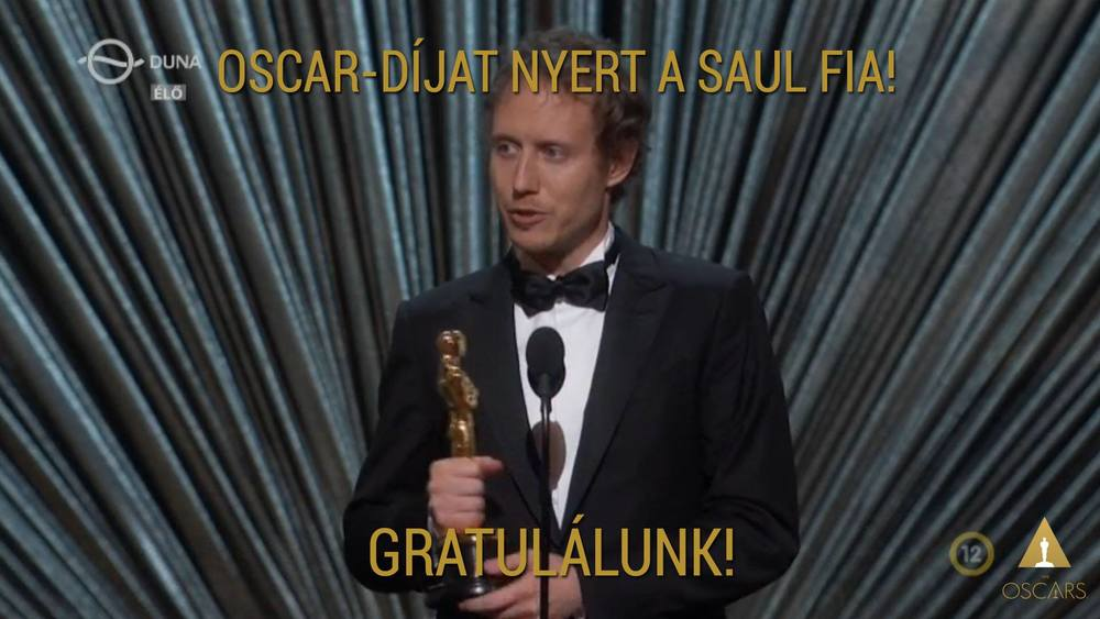 Congratulations to the Oscar-winning Son of Saul.