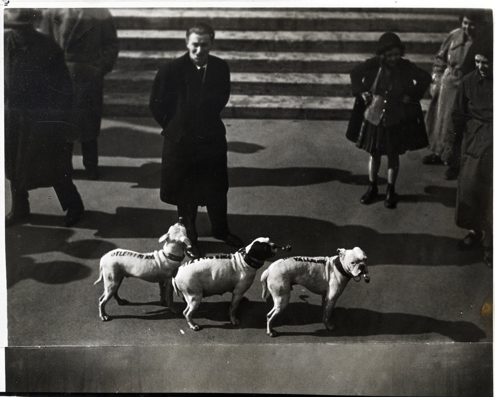 1936, unknown photographer, collection of the Kiscelli Museum