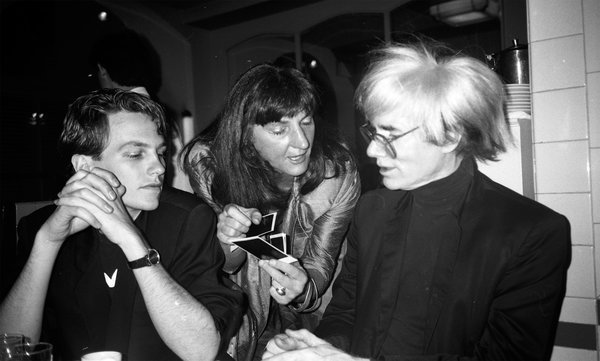 DeAk with Warhol