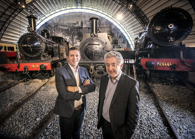 Gareth Quinn, Founder & Managing Director of Digital DNA & John McGrillen, Chief Executive Tourism NI