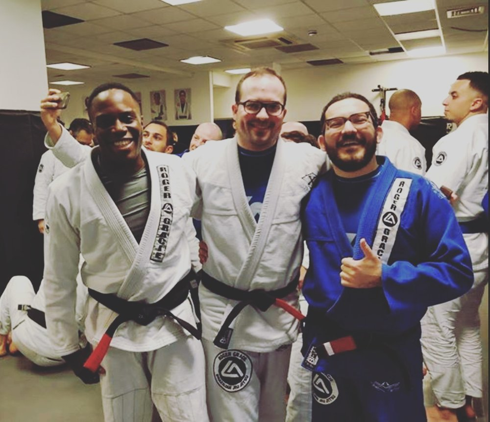 RGA Friends with Owens new black belt