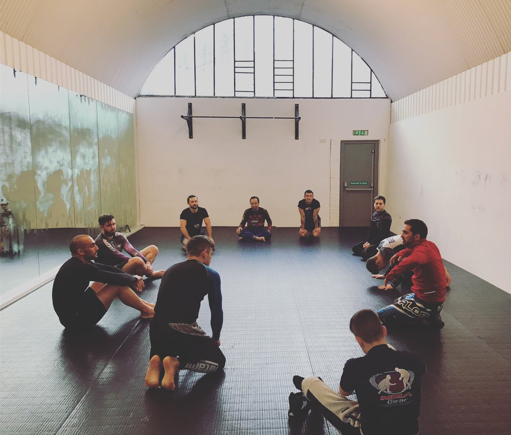 Wrestling - Wrestling is more than just about picking people up and throwing them. It teaches you to move and use muscles you never knew you had. To conquer this wonderful art you need to be strong and supple. Always new things to learn and a great complement to BJJ.