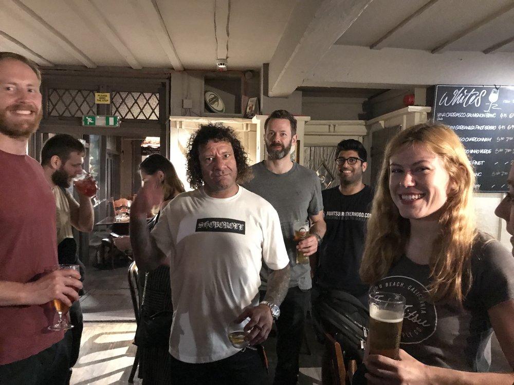 """Kurt in Chiswick """"dive"""" pub"""
