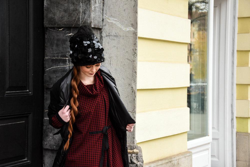 Copy of obleka Firma by Sanja/plašč JSP/kapa last stilistke