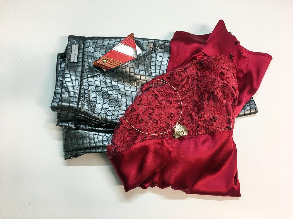 Princip bluza, Dalija Sega ogrlica, David Bacali hlače, Zelolepo drobižnica
