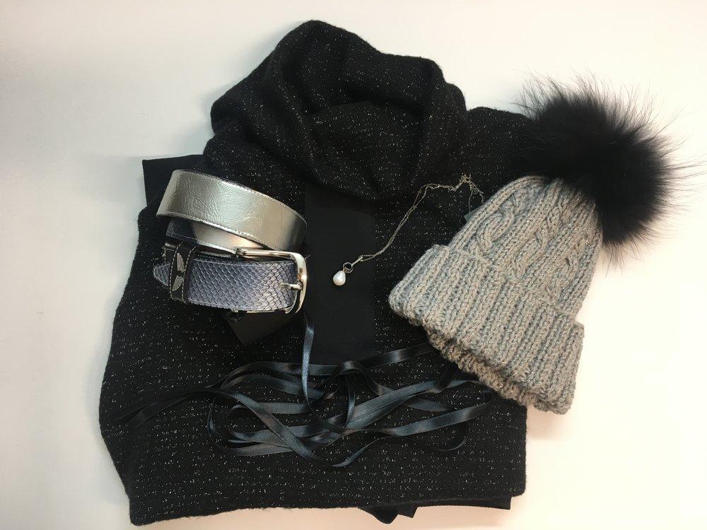 Tina Pavlin obleka, MOM ogrlica, Lolipop kapa s cofom, Zelolepo pas