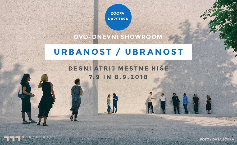 urbanost ubranost