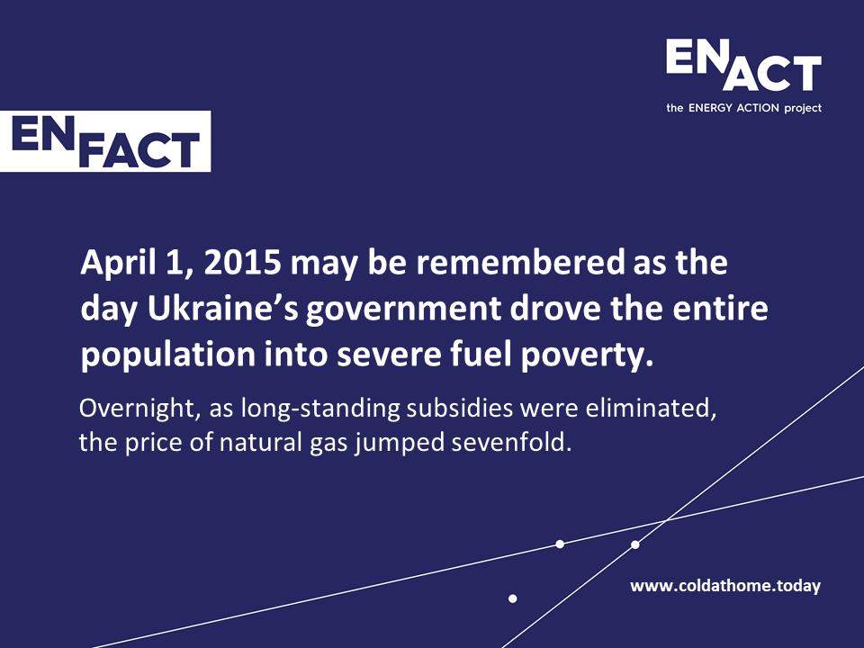Ukraine government energy prices hike.