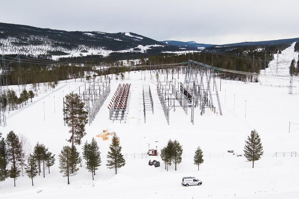 Jokkmokk, Sweden • Messaure Power Station