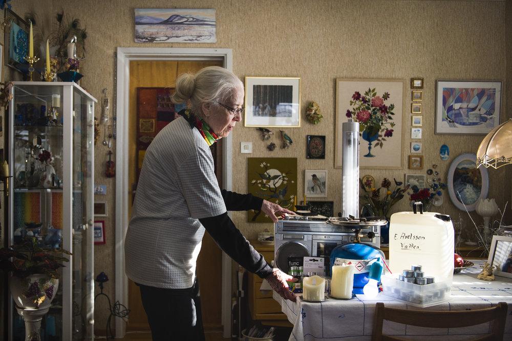 Nattavaara, Gällivare, Sweden • Inga-Lillie Axelsson, 81, retired.