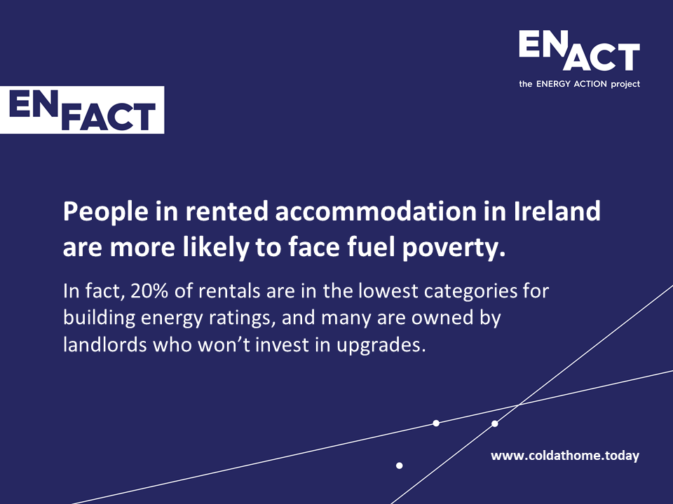 Renters more likely to live in fuel poverty in Ireland