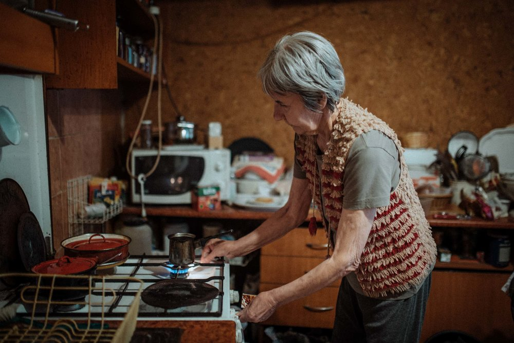 BUDAPEST • Lőrincné (Kati) Unger lives in a small building with outdated heating; on a limited pension, she struggles to pay energy bills in winter.