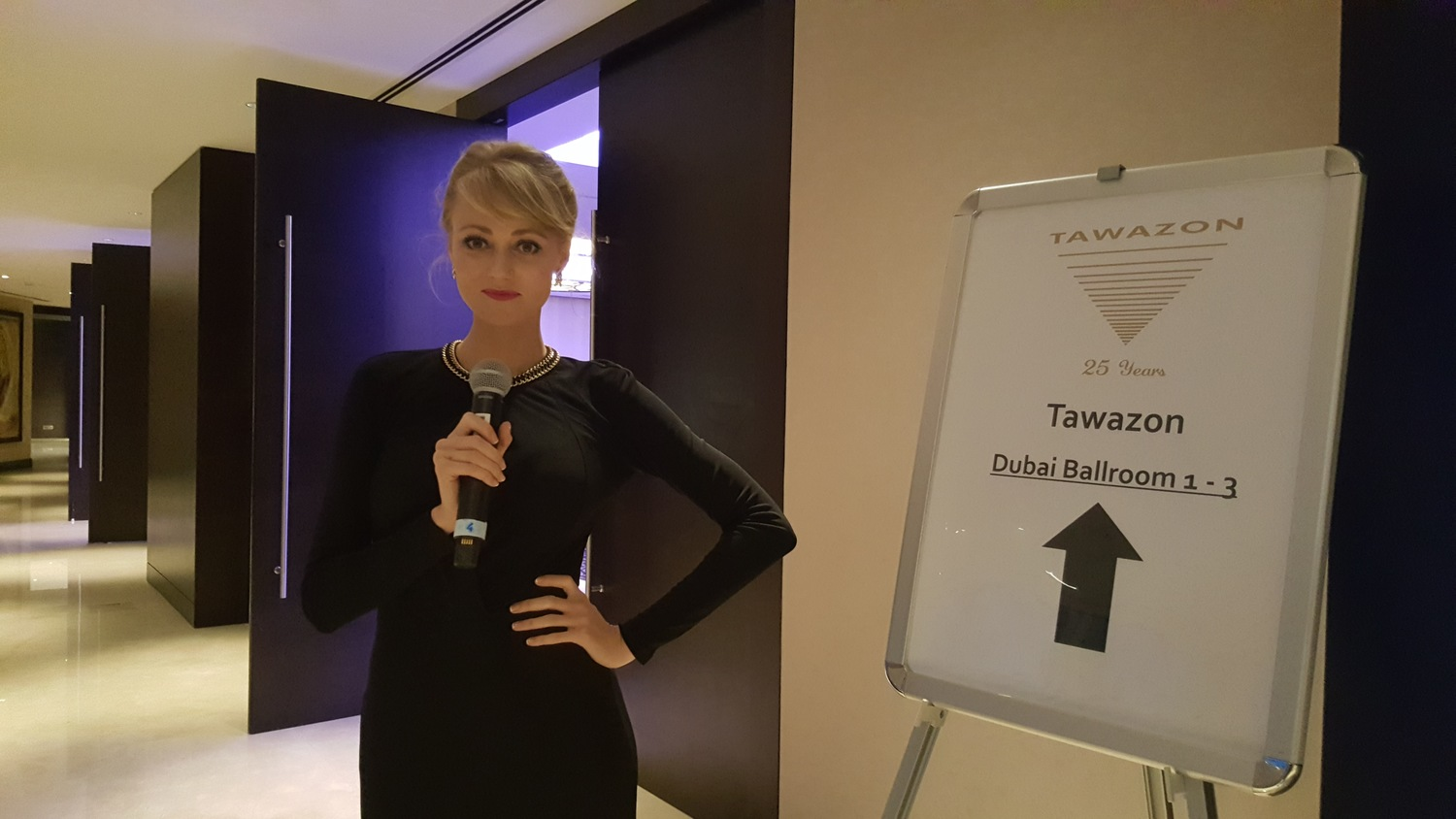 MC for Tawazon — Crystal Van Lloy
